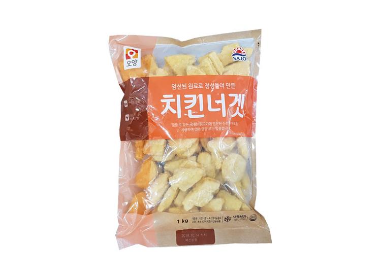 사조오양)치킨너겟1kg