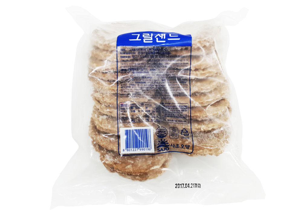 사조오양)그릴샌드1.1kg(패티20입)