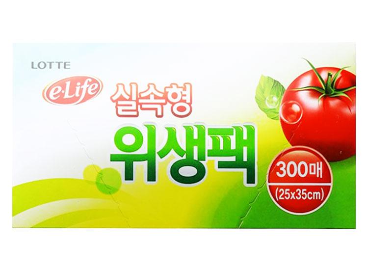 롯데)실속형위생팩25*35(300매)