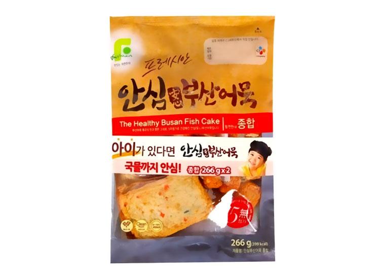 백설)안심부산어묵종합266G
