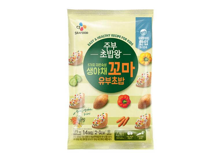 백설)프)생야채미니유부초밥175G