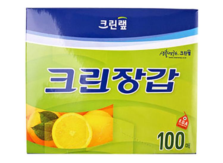 크린랩)크린장갑100매