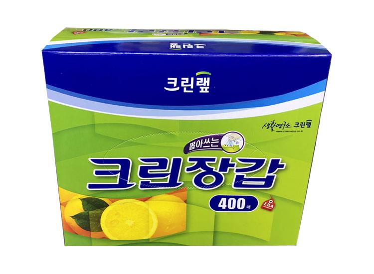 크린랩)크린장갑400매