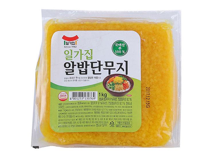 일가)알밥단무지1kg