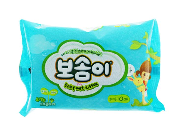 보솜이 아기 WT 휴대 10매
