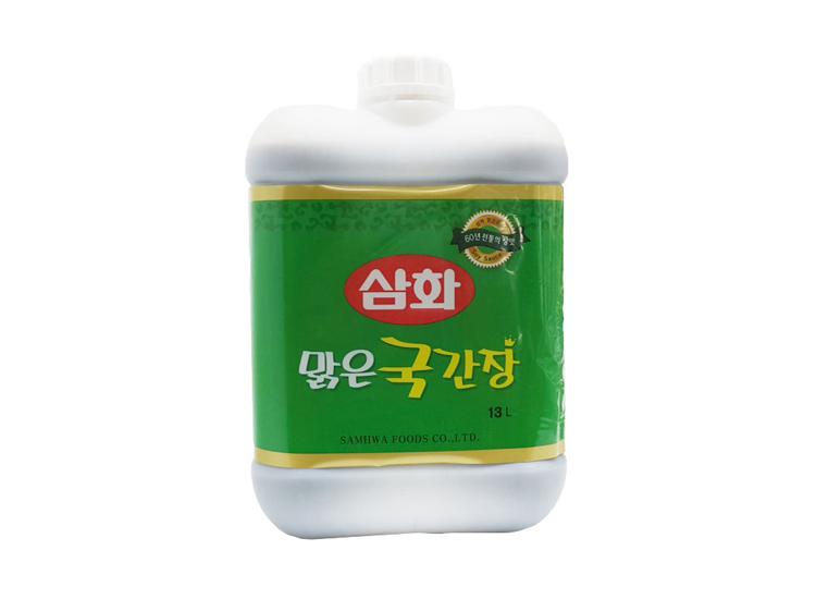 삼화맑은국간장13L