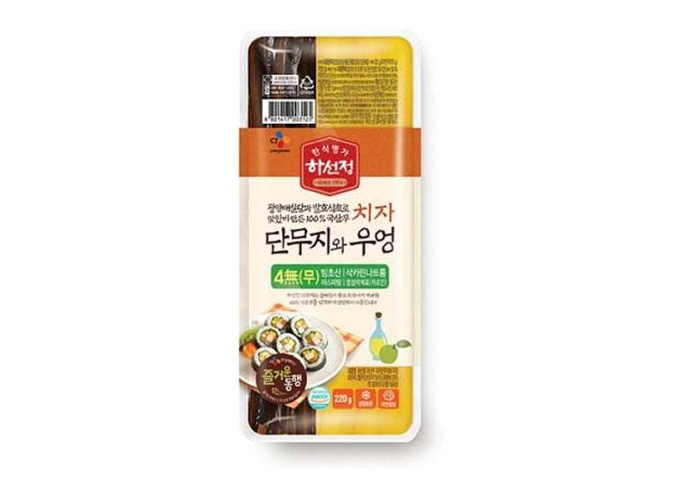 백설)하선정치자단무지와우엉220g