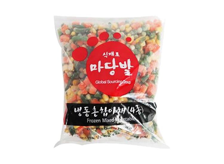 마당발)냉동혼합야채(4종)1kg