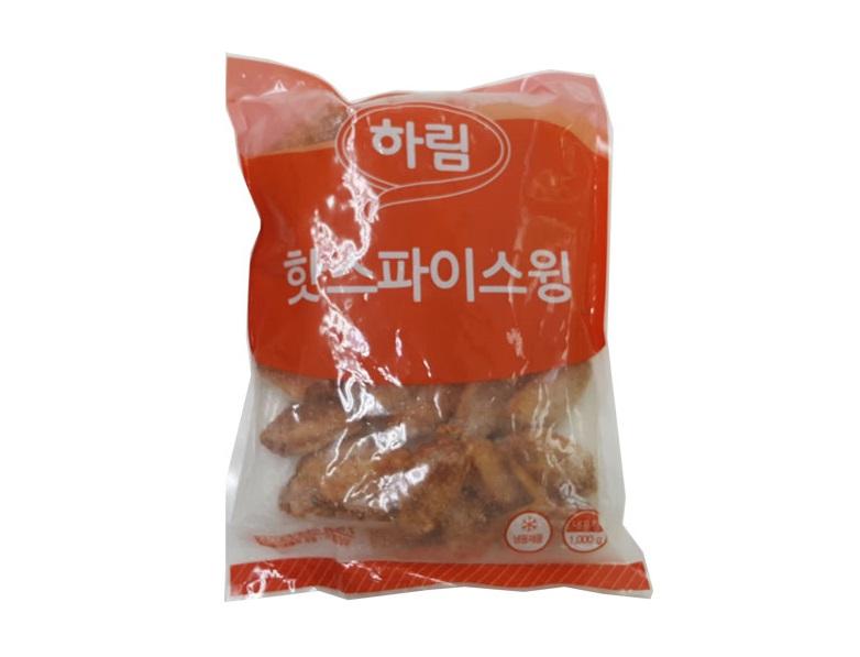 하림)버팔로윙(핫스파이스윙)1kg