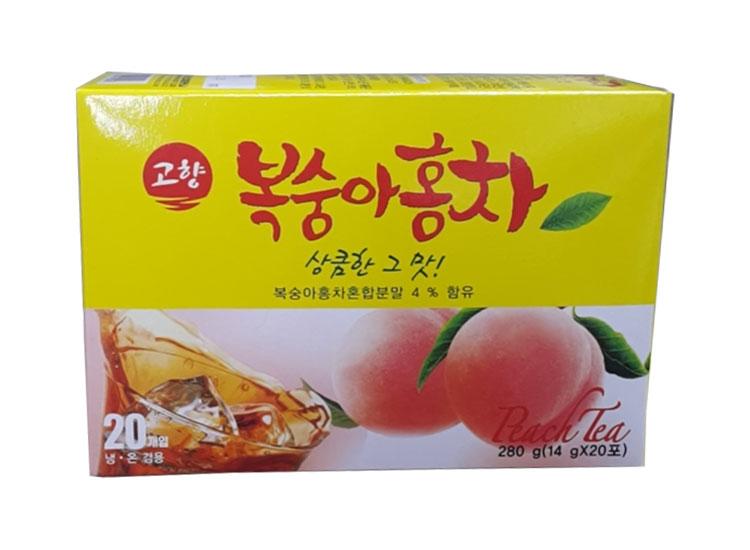 고향)복숭아홍차20T