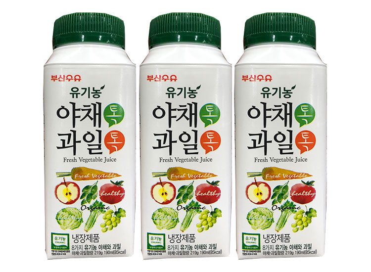 부산)야채톡과일톡190ml*3