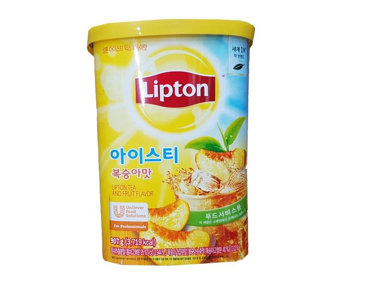 립톤복숭아맛907g