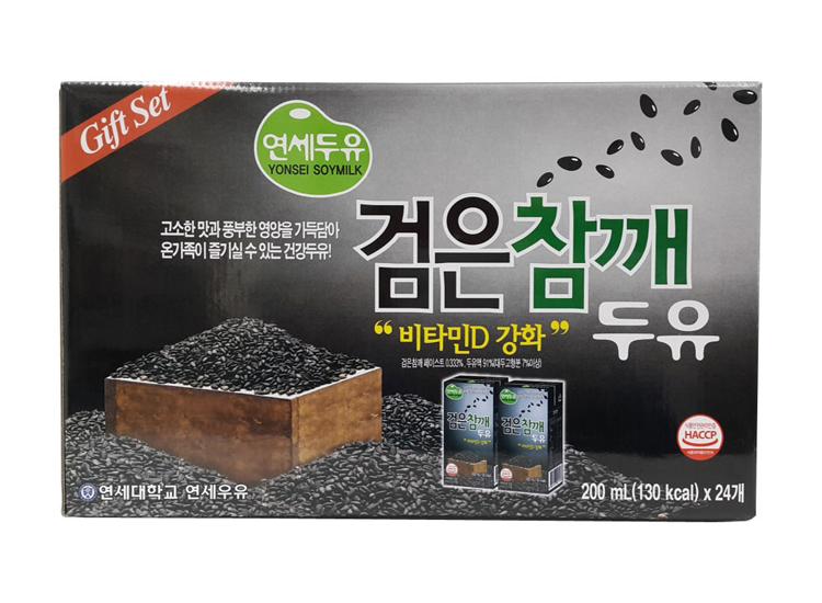 연세)검은참깨두유팩200ml*24