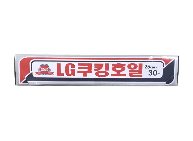 LG)쿠킹호일25cm*30m