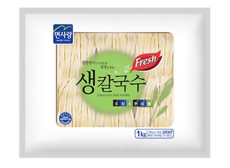 면사랑)생칼국수1kg