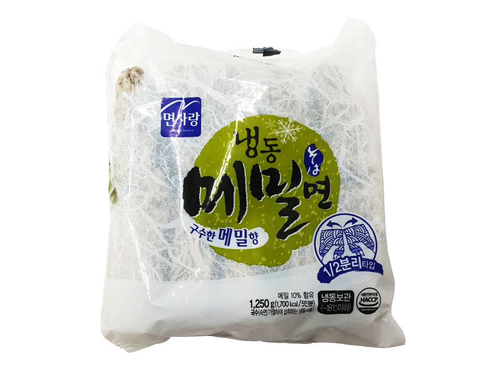 면사랑)냉동메밀면5입