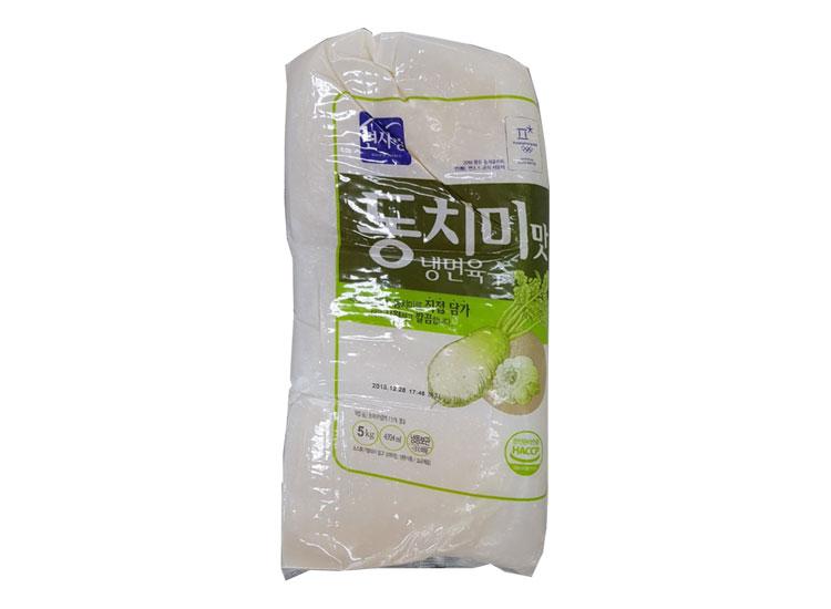 면사랑)동치미맛냉면육수5kg