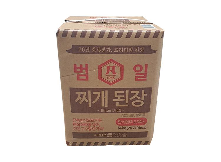 범일찌개된장14kg.