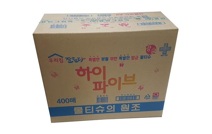 물티슈(하이파이브)-box