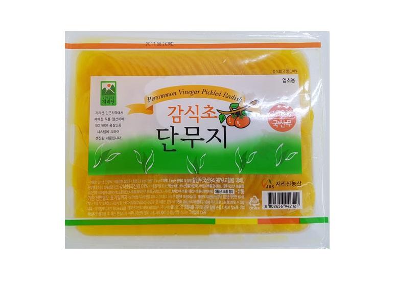 감식초단무지(반달)3kg
