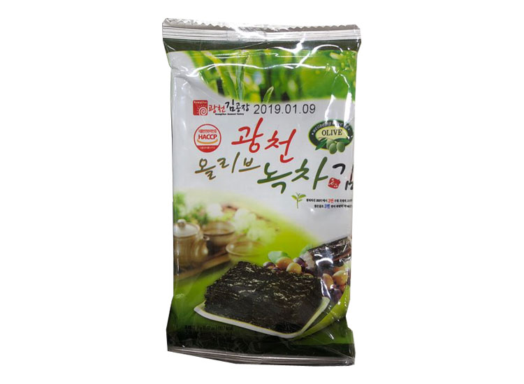 광천)녹차미니도시락김1봉