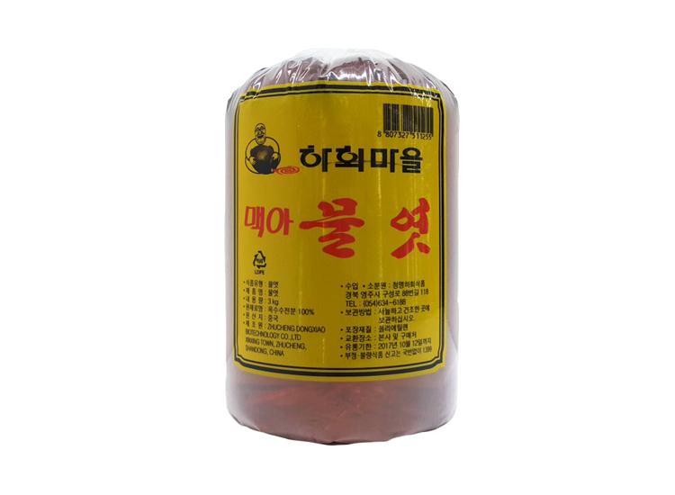 하회)황물엿(조청물엿)3kg.