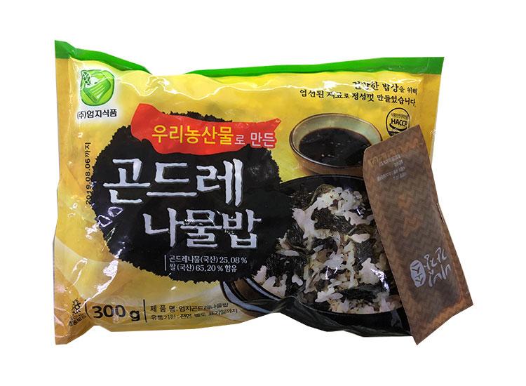 엄지)곤드레나물밥300g