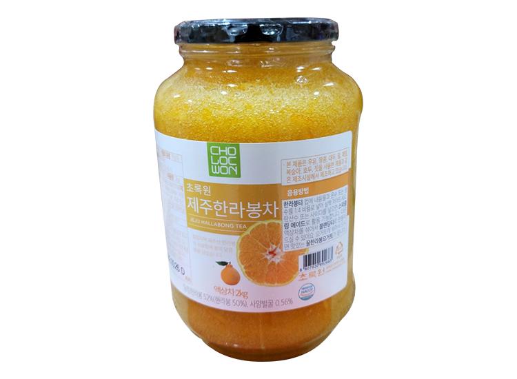 초록원)제주한라봉차2kg