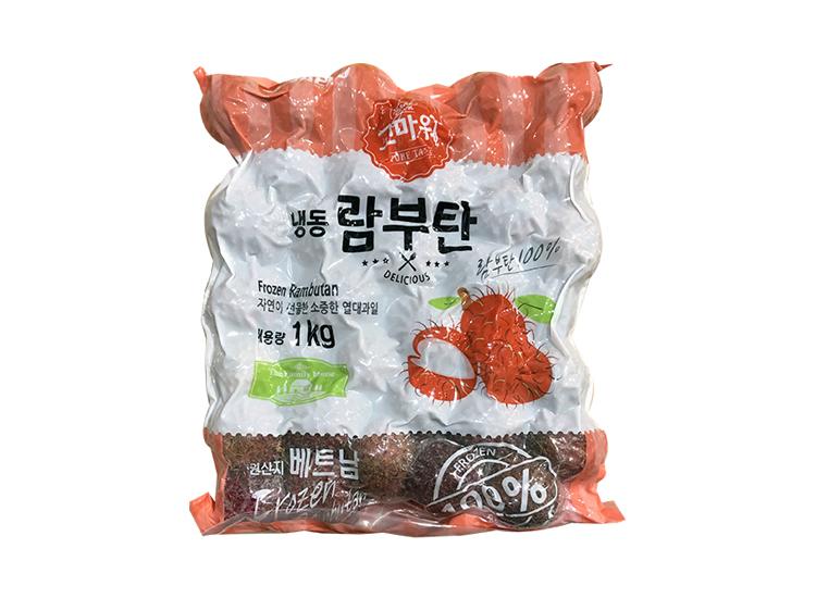 재호)냉동람부탄1kg