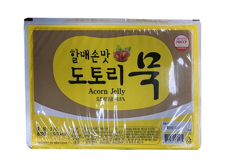열매들)도토리묵3kg