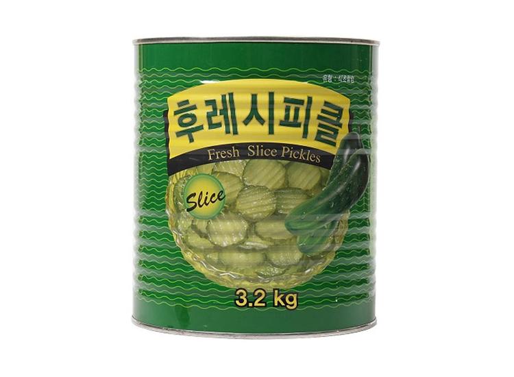 하이델)후레쉬피클슬라이스3.2kg
