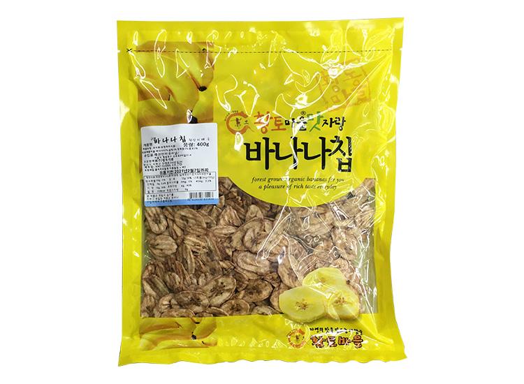 황토)구운바나나칩400g