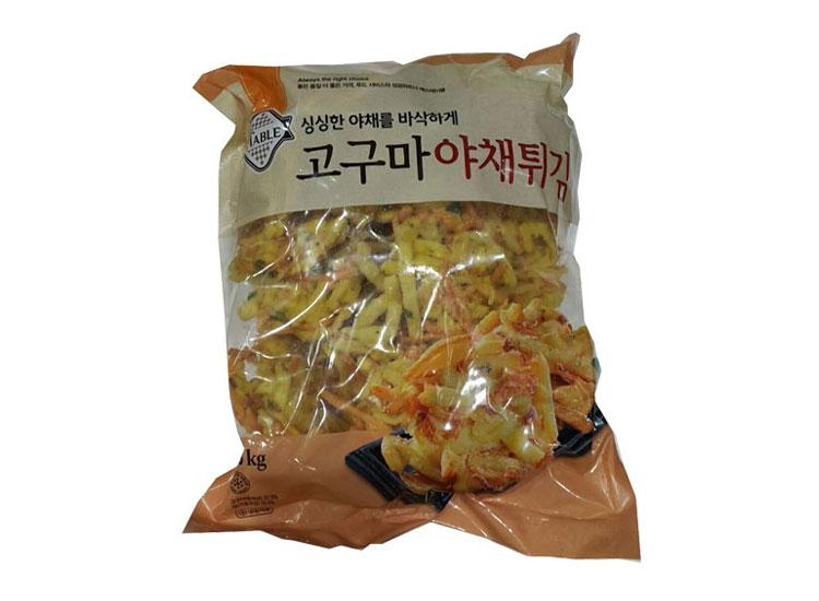 세미원)고구마야채튀김1.5kg