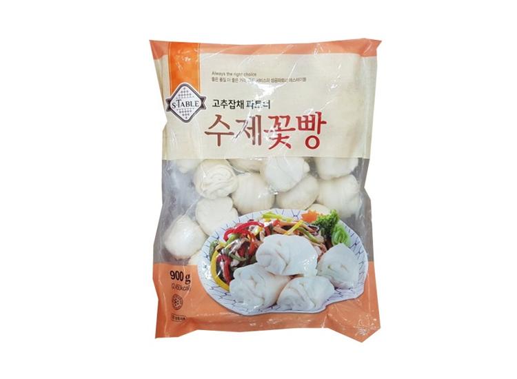 세미원)수제달인꽃빵900g