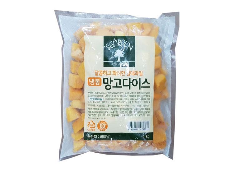 세미원)냉동망고다이스1kg