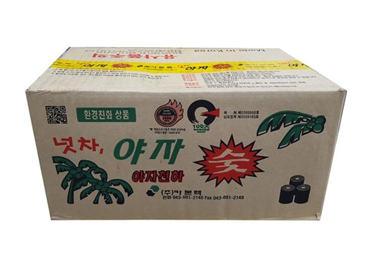 넛차야자숯-小(원형숯)-box