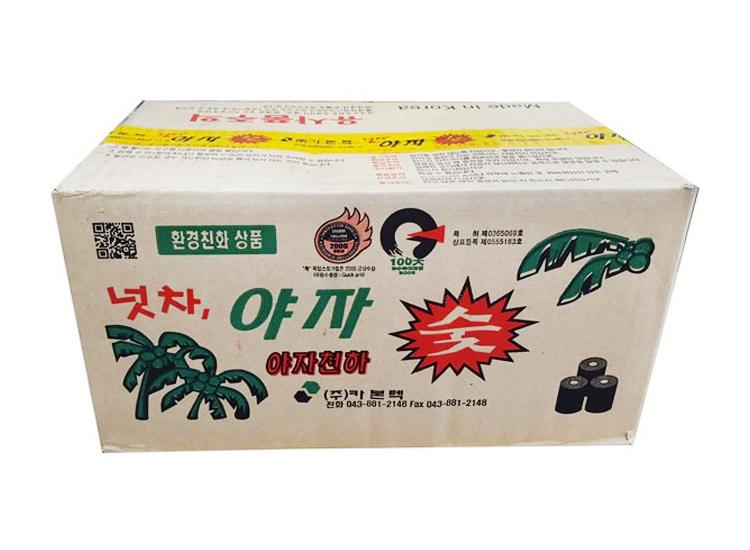 넛차야자숯-大(원형숯)-box