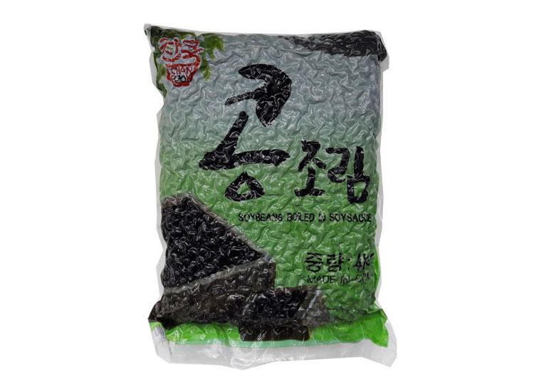 찬쿡)검정콩조림4kg(중국산)