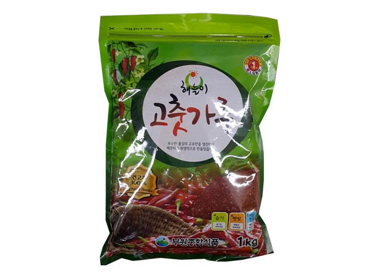 해늘이고추가루1kg(중국,김치용)