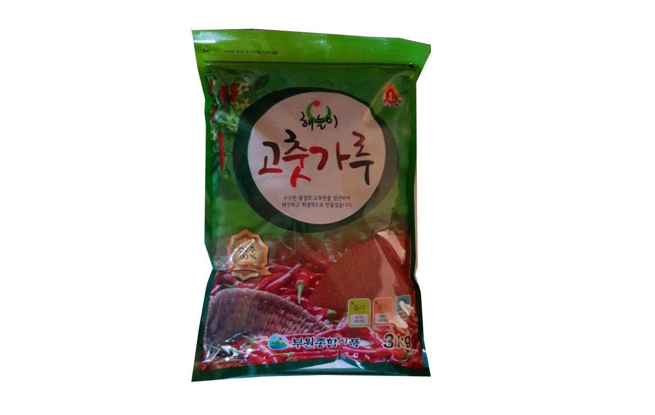 해늘이고추가루3kg(중국,김치용)