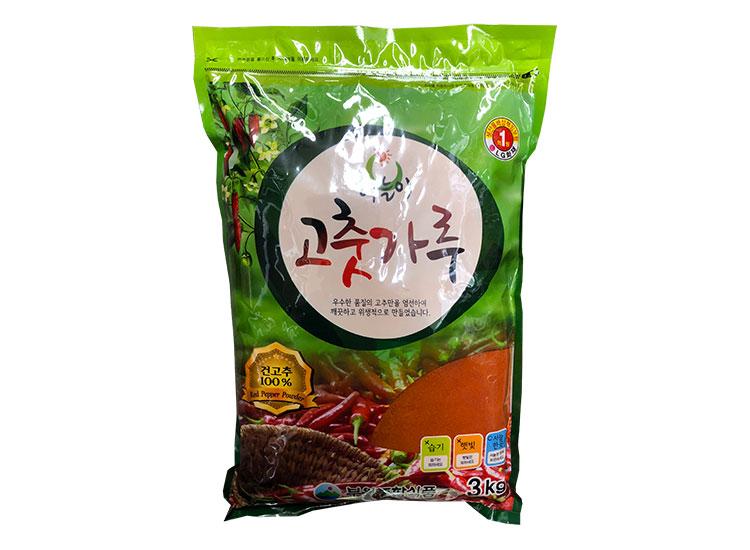 해늘이고추가루3kg(중국,장용)