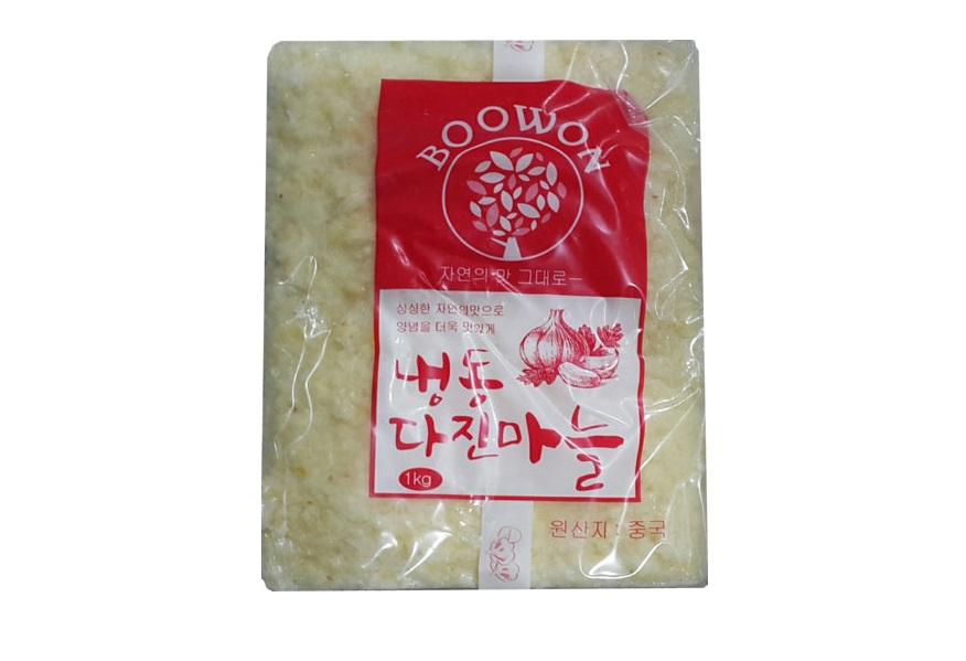 부원)냉동다진마늘1kg(중국)