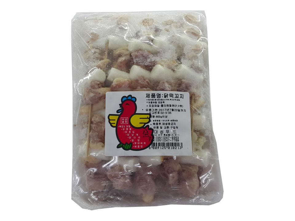 대성)닭떡꼬지800g
