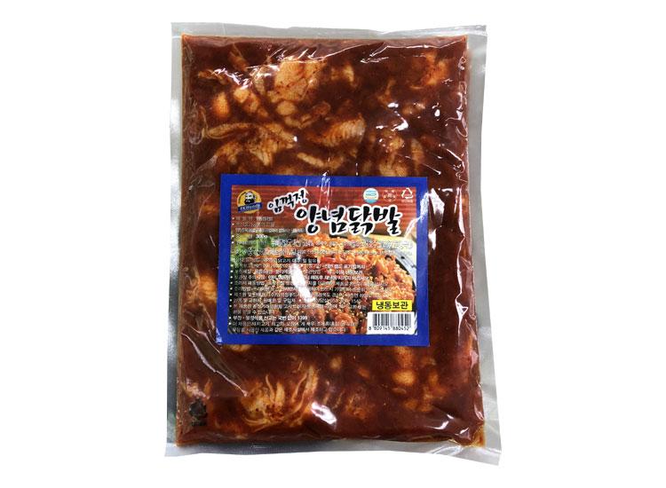 임꺽정)양념닭발300g