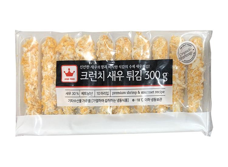 굿프랜즈)크런치새우튀김300g-10미