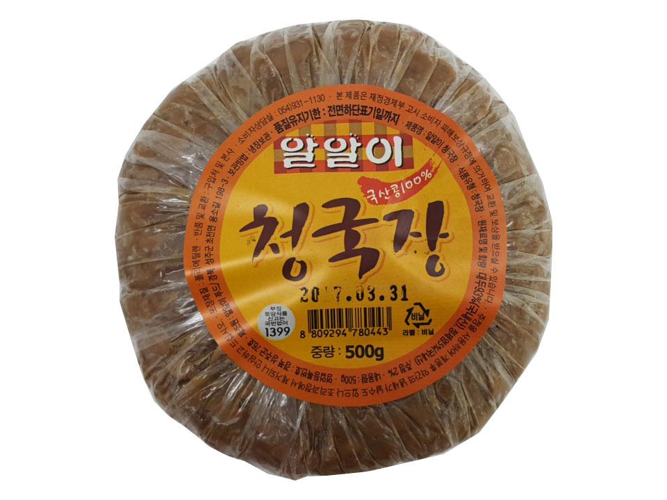 알알이)할매청국장500g(국산콩100%)