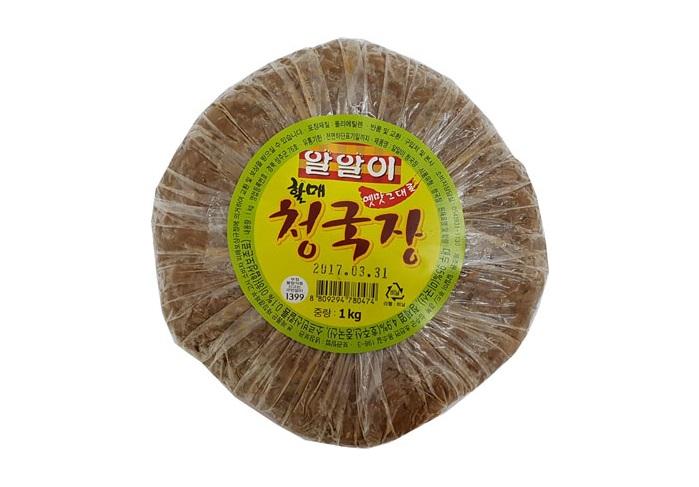 알알이)할매청국장1kg