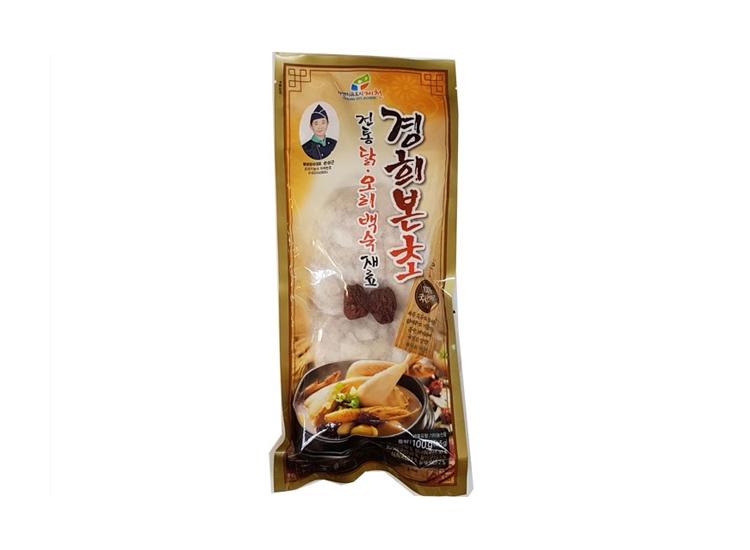 경희본초)닭오리백숙재료100g