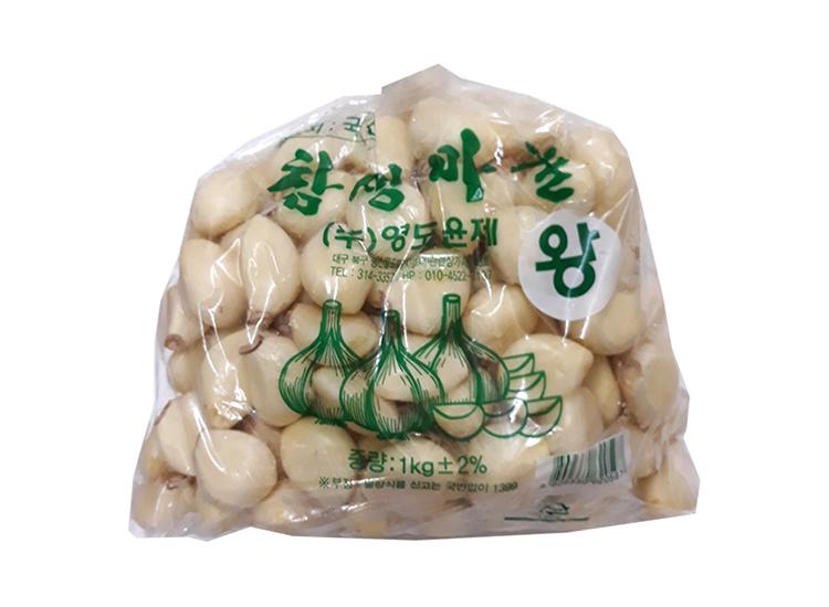 참생통마늘1kg(왕)/국산