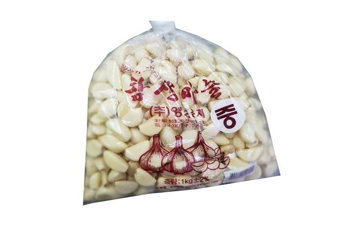 참생통마늘1kg(중)/국산